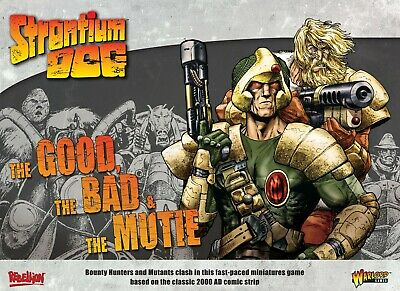 Strontium Dog: The Good The Bad And The Mutie Starter Game RRP £50 • 40.99£