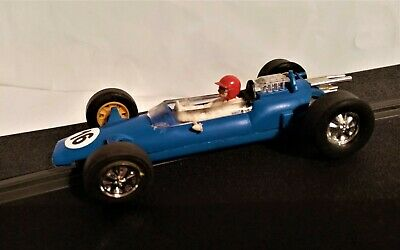 Vintage Scalextric Lotus C82, V.G.C. New Tyres, New Braids, Serviced. • 22.99£