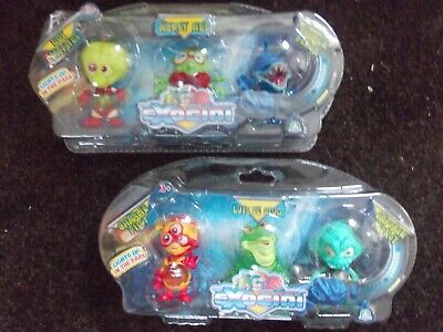 Exogini Triple Figure Pack   NEW SEALED Select From Drop Down Menu  FREE POSTAGE • 7.99£