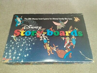 Big Disney Story Boards Board Game Vintage Family Fun Boxed Collectable  • 12.50£