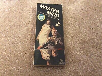 Vintage Original Master Mind By INVICTA From 1972 Two Players. Complete • 9.99£
