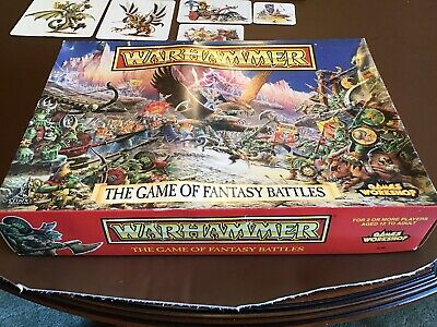 Warhammer The Game Of Fantasy Battles, 0120, Series 4 1992 Edition.  Complete. • 159.99£
