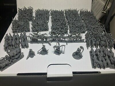 Warmaster 10mm Wargaming Vampire Count Undead Army. • 130£
