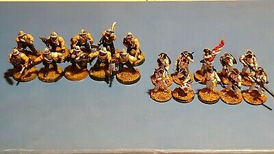 2 X 28mm Sci Fi Infantry Regiments - (some WH40K Figures). • 7£