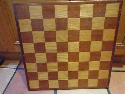 Large Wooden Chess Board • 25£