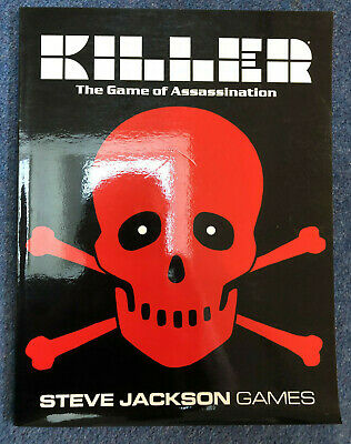Killer The Game Of Assassination - By Steve Jackson - SIGNED COPY • 100£