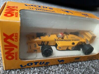 RARE SIGNED Onyx 1/43 Lotus 100T Nelson Piquet Camel Livery 1988 • 49.99£