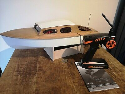 Vintage Aerokits Sea Scout RC Model Boat - Ready To Go - Only Battery Required • 199£
