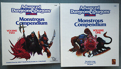 Monstrous Compendium - Advanced Dungeons And Dragons 2nd Ed - VGC • 30£