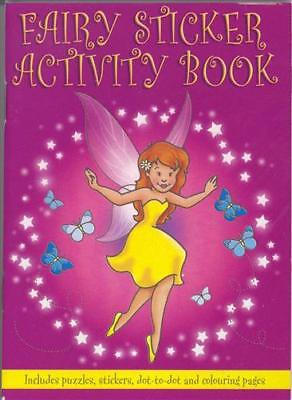 10 X Girls Fairy Activity Books, All Occasions, Birthday Party Bag Fillers Toys • 5.99£