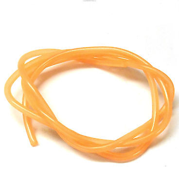 Orange Silicone RC Nitro Glow Fuel Line Tube Pipe 1 Meter R/C 1/10 Scale • 2.60£