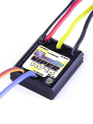 Mtroniks Viper RV 15T Limit Waterproof Brushed ESC Speed Controller VIPERRV15 • 34.99£
