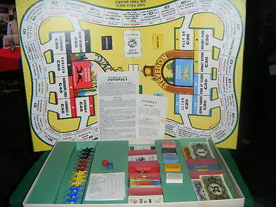 Choose SPARE Replacement PARTS Vintage TOTOPOLY BOARD GAME By WADDINGTONS • 1.99£