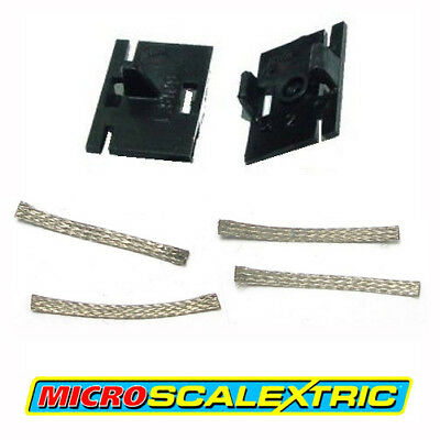 MICRO SCALEXTRIC 1:64 Spares - Guide Blade Plates & Pick-up Braids Brushes W1573 • 7.99£