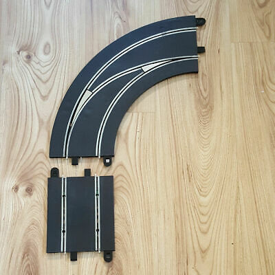 Scalextric Digital 1:32 Track C7008 Lane Changing Curve Right Hand Out To In #A • 17.99£
