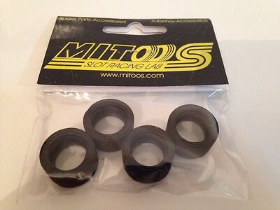 Mitoos M089 Striped Tyres Soft X 4 - 20 X 11mm - 25 Shore - New Release • 3.99£