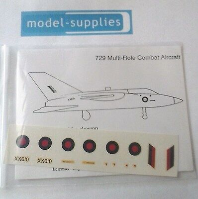 Dinky 729 MRCA  Reproduction Decal Set With Instructions • 5.16£