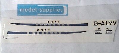 Dinky 702 Comet Airliner  BOAC  Reproduction Decals Transfers • 5.97£
