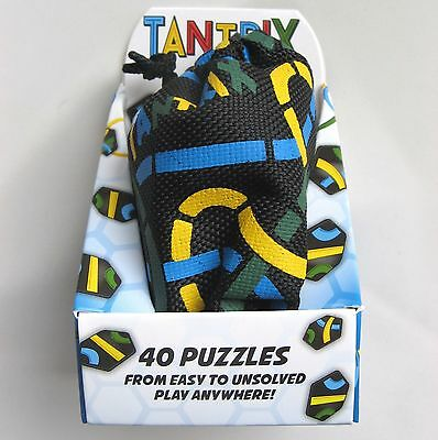 Tantrix Quest Puzzle Game With Bag By Professor Puzzle - 40 Puzzles - Brand New! • 14.95£