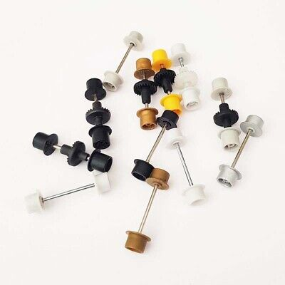 Micro Scalextric 1:64 Spare Axles - 6 Rear With Contrate Gears & 6 Front • 16.99£