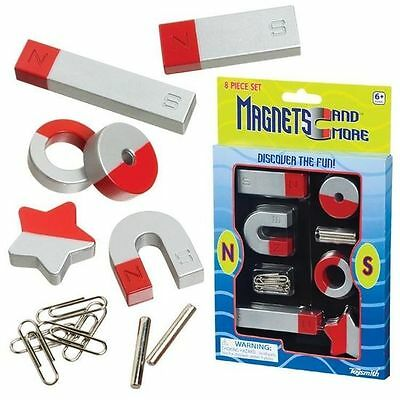 1 Or 2 SETS - 8 Pieces Classic Horseshoe Magnet Set - Fun Learning Science Toy • 5.95£