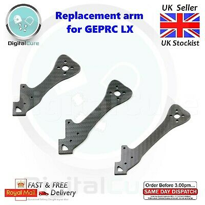 Replacement Spare Arms For GEPRC GEP LX Leopard LX4 LX5 LX6 195/220/255mm Frame • 6.95£