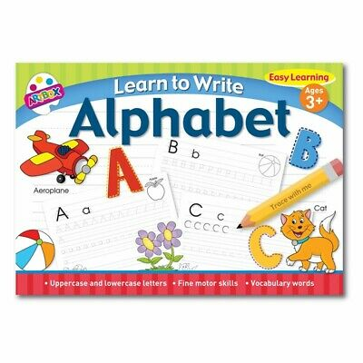 Learn To Write Childrens Learning Alphabet Easy Learning Book For Kids • 2.69£