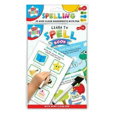 Learn To Write Childrens Learning Alphabet Easy Learning Book For Kids • 2.89£
