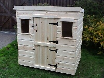 Childrens Wooden Play House/Wendy Dog Kennel Rabbit Hutch - CAN DELIVER • 189.99£