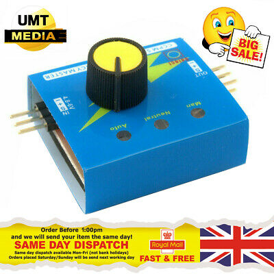 Multi Servo Tester 3CH ECS Consistency Speed Controler Power Channels CCPM TY • 4.20£