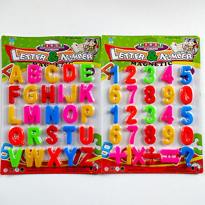 Kids Learning Teaching Magnetic Alphabet Toy Letters & Numbers Fridge Magnets UK • 3.49£