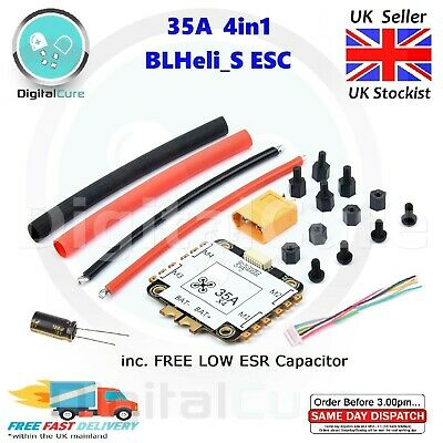 35A 4in1 Blheli_S 2-6S ESC With Current Sensor - Racing 30A Replace Racerstar • 28.95£