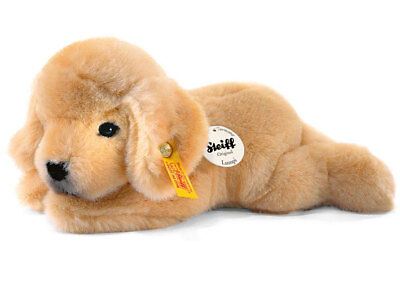 Steiff 'Lumpi' Golden Retriever - Soft Toy Plush Washable Puppy Dog - 280160 • 33.99£