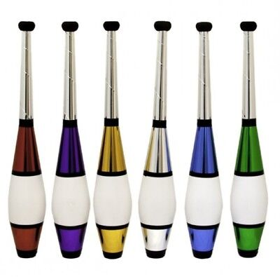 Set Of 3 'Euro Classic' Juggling Clubs - 6 Colours - Circus Pins By Juggle Dream • 30.92£