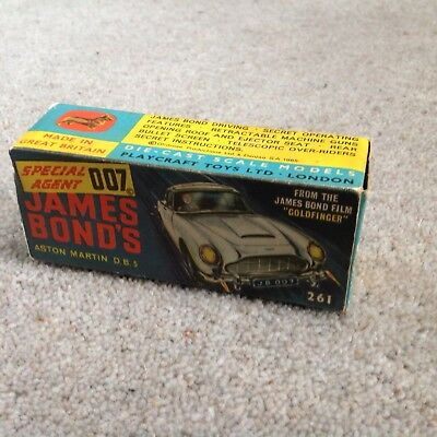 Corgi 261 Box James Bond • 39.50£