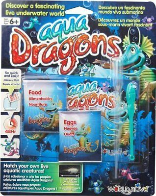 Aqua Dragons By Brainstorm - Use With Own Container Or As Refill - New & Sealed! • 7.85£