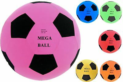 45cm Mega Ball Available In 6 Colours For Great Fun Outdoors • 4.99£