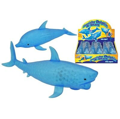 Squishy Bead Dolphin / Shark Fish Water Animal Anti Stress Releif Ball Fidget  • 3.99£