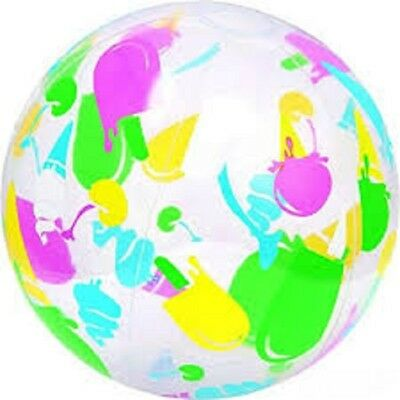 Bestway Colourful Beach Ball - 31036 Various Designs Inflatable Pool Kids Fun • 2.99£