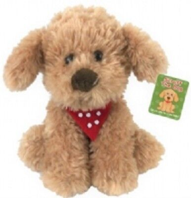 Scruff The Dog Plush Puppy - 340-630 Cockapoo Pup Doggy Soft Fluffy Cuddly Toy • 7.99£