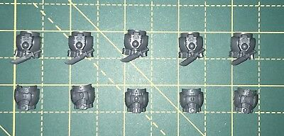 Deathwatch  Kill Team Torsos X5 Mk8 Front And Back Bits Warhammer 40k  • 1.50£