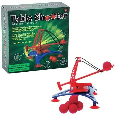 Table Shooter Desktop Catapult Launcher Office Executive Desk Fun Game Gift  • 8.25£
