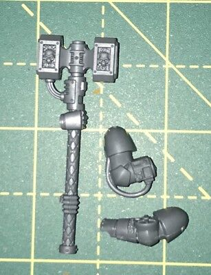 DW20 Deathwatch Kill Team Heavy Thunder Hammer Right Hand Warhammer 40k Bitz • 2£