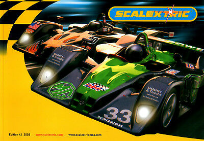 Scalextric Catalogue Edition 44 (Paperback, 2003) • 7.50£