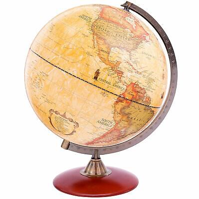 Exerz Antique Desktop Globe Educational Swivel World Globe Dia 30CM 25CM 20CM  • 39.99£