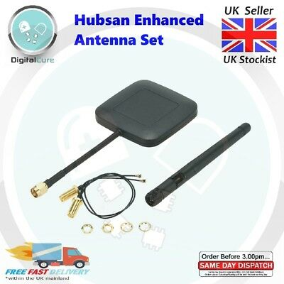 5.8G 14dBi FPV Enhanced Range Antenna Kit Hubsan H501S H502S H107D+ H107D H25G • 9.55£