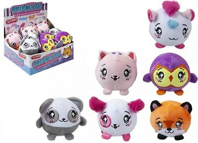 3.5  SQUISHIMI PLUSH SCENTED  BALLS SERIES 3 (x 6 Assortments) -one Shipped • 7.99£
