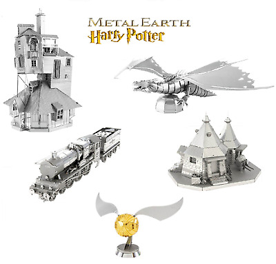Harry Potter Miniatures Official Metal Earth 3D Models Laser Cut DIY Steel Kit • 13.45£