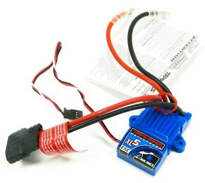 Traxxas XL-5 Brushed Waterproof Electronic Speed Controller (ESC) (Part #3018R) • 39.95£