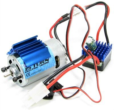 FTX Carnage 45A ESC & 15T 550 Motor Combo With Tamiya Plug (FTX6557W, FTX6558) • 32.95£